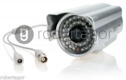 TELECAMERA VIDEOSORVEGLIANZA INFRAROSSI A 48 LED