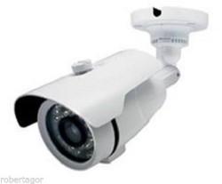 TELECAMERA VIDEOSORVEGLIANZA 24 LED INFRAROSSI