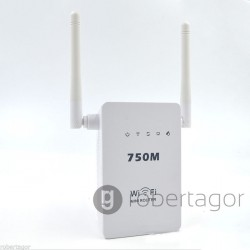 MINI ROUTER WIRELESS FUNZIONE WPS ACCESS POINT E RIPETITORE WIFI 300 MBPS