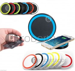 CARICABATTERIA QI INDUZIONE WIRELESS LIGHTNING TAPPETINO PER IPHONE E IPAD