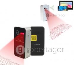 TASTIERA LASER TOUCHPAD BLUETOOTH A PROIEZIONE PER PC SMARTPHONE E TABLET