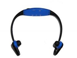 CUFFIE BLU CON MP3