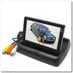 """MONITOR LCD A SCOMPARSA TFT 4.3"""" A COLORI PER TELECAMERA RETROMARCIA"""