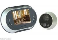 SPIONCINO ELETTRONICO DIGITALE CON TELECAMERA E FOTOCAMERA E LCD 3.5