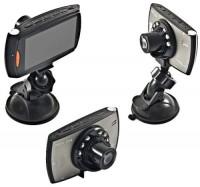 MINI TELECAMERA VIDEOREGISTRATORE HD PER AUTO CON MONITOR LCD E LED