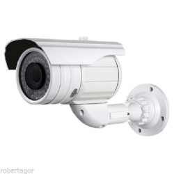 TELECAMERA VIDEOSORVEGLIANZA VARIFOCALE CON ZOOM A 36 LED