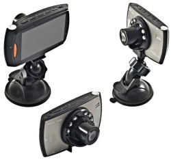 MINI TELECAMERA VIDEOREGISTRATORE HD PER AUTO CON MONITOR LCD E LED