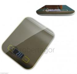 BILANCIA DIGITALE LCD IN ACCIAIO