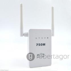 MINI ROUTER WIRELESS FUNZIONE WPS ACCESS POINT E RIPETITORE WIFI 300 MBPS