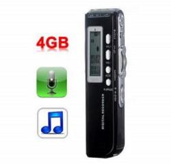 MINI REGISTRATORE DIGITALE 4 GB USB VOCALE E TELEFONICO