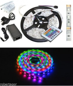 Striscia a Led SMD 5050 RGB IP65 da 5 metr