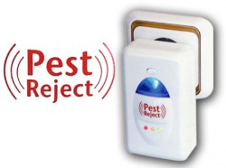 Pest Reject - Scaccia Insetti ad Ultrasuoni nella presa elettrica