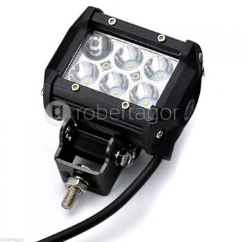 FARO LAMPADA PER AUTO FUORISTRADA 12V 6 LED