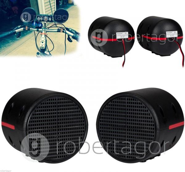 Casse portatili impermeabili con staffa manubrio per moto auto bici - Casse audio per casa ...