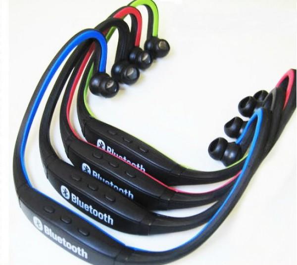 Cuffie sport stereo audio auricolari bluetooth 2 0 senza fili per smartphone - Cuffie per sport ...